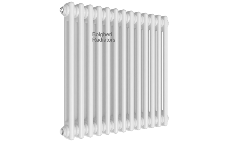 Traditional two column steel radiators