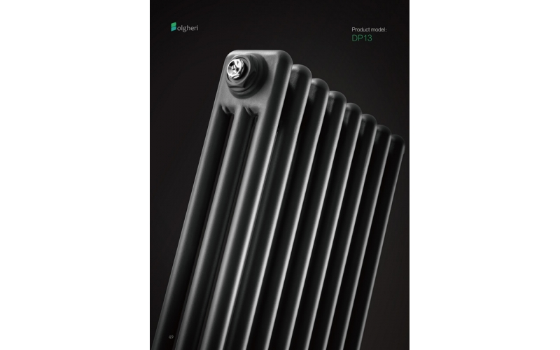 DP13 - Traditional three column steel radiators vertical